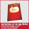 new arrival fashionable christmas greeting card with printing