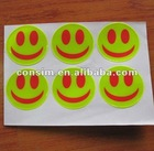 reflective sticker for safety decoration and warning,reflective bumper stickers