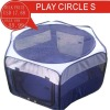 2011BLUE PLAY CERCLE SIZE S OF wire cage cat carrier