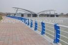 Bridge steel guardrail