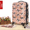 bowknot printing PC luggage