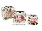 vintage suitcase best seller, wholesale vintage canvas suitcases, vintage leather suitcase