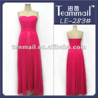 Strapless A-lin floor length evening gowns in india,latest formal evening gown
