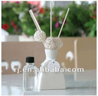 aroma diffuser therapy by reed sticks and flower