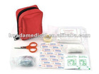 DIN 13164 standard car first aid kit in nylon bag