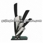 3-piece Ceramic Knife Set with 85 Degrees Hardness