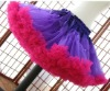 purple and hot pink wholesale pettiskirts girls