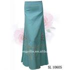 Blue Linen Skirt SL10605