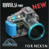 Waterproof camera case for NEX-5N
