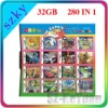 Hot sale 280 in 1 multi game card for 3DS