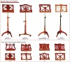 Various Designed all solid Music Sheet Stand/Adjustable