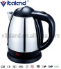 1.2L stainless steel kettle with 360 degree rotating base