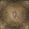 JS4155Beautiful embossed Faux leather decorative ceiling tiles