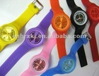 Custom Cheap Sport Ion Silicone Watch