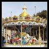 Hot sale! Fairground amusement equipment 16seats carousel for sale