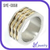 Costume Jewelry Stainless Steel Fashion Finger Ring