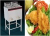 Electric Deep Fryer of maikeku with double vats double basket