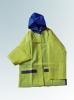 green/blue people raincoat