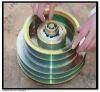 AC system bock fk40 compressor electromagnetic clutch