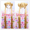 Aino Minako Sailor Moon Long straight yellow Cos Girl Wig CW203