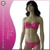 Summer fashion lady pink bikini