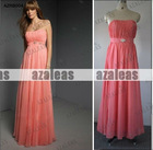 AZRB004 Empire Chiffon Bridesmaid Gown