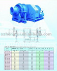 Electric double (multi-ply) drum mooring winch