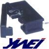 box size 5*20mm black 2 pins fuse holder YW6-105