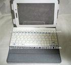 2012 newest Bluetooth wireless keyboard Case for Samsung Galaxy 7inch