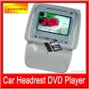 Game Function and High Definition for Car 7inch headrest dvd with Zipper