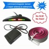 No Drill, No Hole, Car LED Display Electromagnetic Parking Sensor(UN-11004EPS) Copper Antenna & Waterproof Connector