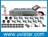 16 SONY CCD cameras & 16 channel DVR & 1000GB HDD cctv system