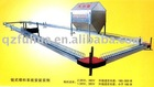 poultry feeding system of galvanized feeder