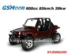 800CC UTV 4x2 with Chery Brand EFI engine