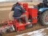 Potato sowing machine