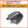 New A4 carbon rearview mirror covers door mirror covers for Audi 2012up