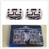 metal chrome fold away rope cleats for truck and boat and trailer
