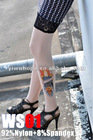 2012 fashion woman tattoo socks