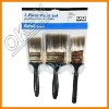 Black Bristle Wood Handle Flat Paint Brush
