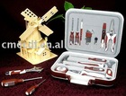 CMEC-1018 stainless steel family multifuctional tool set