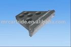 cemented carbide shield tips