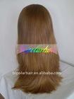 "highlight blonde Virgin European hair jewish kosher wig 5"" x 5"" silk top"