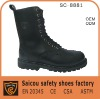 high cut Steel toe military boots factory (SC-8881)