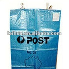 PP woven mailing/ courier/post bag exported to Russian