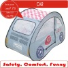 Funny children car tent, pop up play tent of blue car