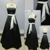 Black and White Mermaid Wedding Dresses#9548