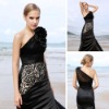 Wholesale Coniefox Hotsale Luxurious black ball gowns 80130