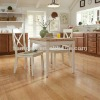 selected red oak flooring solid or engineered plank clear finish