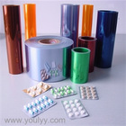 medicine packaging clear PVC film in roll