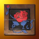 Flower painting frame